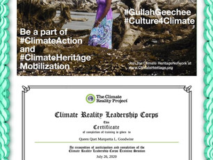 Queen Quet is a Climate Reality Leader