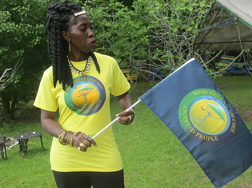 Gullah/Geechee Nation Handheld Flag