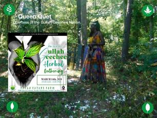 Queen Quet Opening the Gullah/Geechee Herbal Gathering