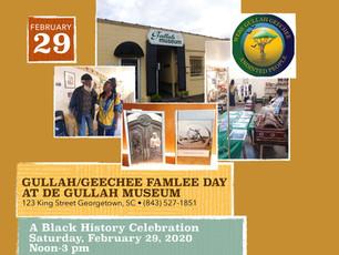 Queen Quet at Gullah/Geechee Famlee Day at De Gullah Museum een Georgetown, SC