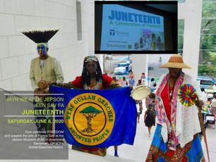Join Queen Quet & De Gullah/Geechee Famlee at Juneteenth at de Jepson