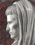 AUGUSTO - ritratto da statua augustea di via Labicana - Roma