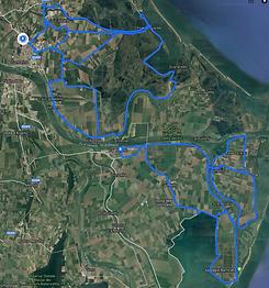 Itinerario delta del Po