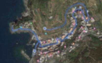 Manarola Map