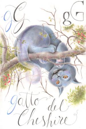 GATTO DE CHESHIRE - Matite e matite colorate