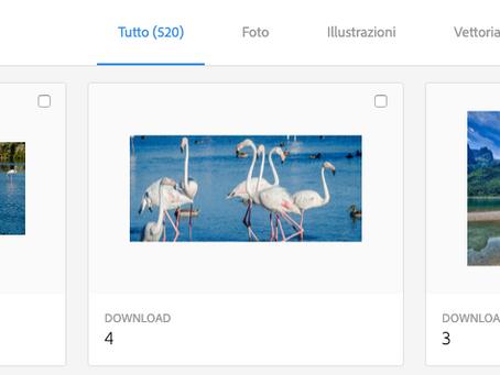 OLTRE 500 PHOTO MIE IN VENDITA SU ADOBE STOCK