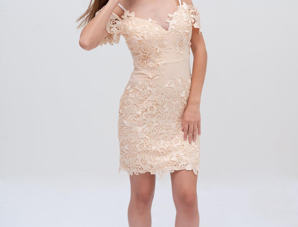 Vestido de Encaje Mamey