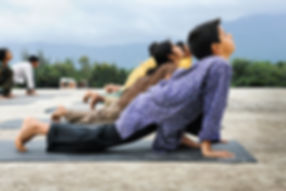 childrens yoga,isha yoga, shivangi haha yoga
