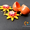 Thumbnail: Summer Sensation Polymer earring with Quilled Jhumkas