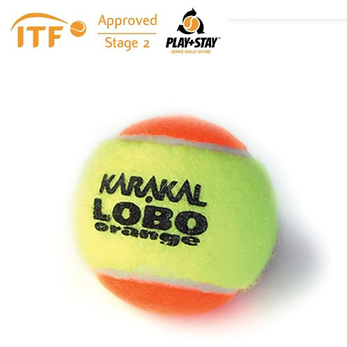 Karakal Mini Orange Tennis Balls (pack 12)