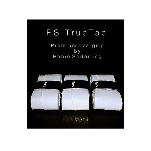 True Tac  Overgrip 3pack White