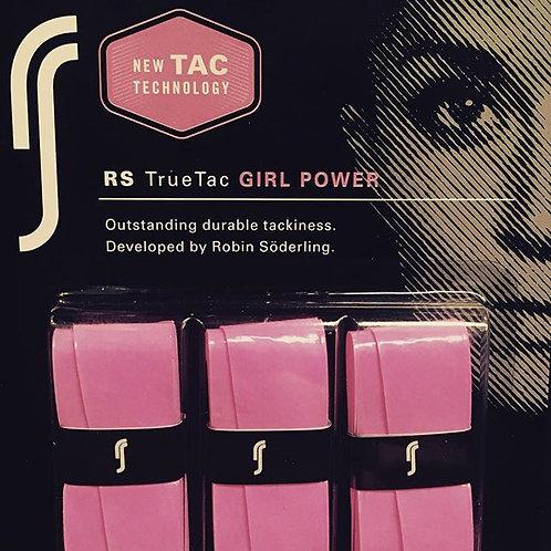 True Tac 'Girl Power' Overgrip 3pack Pink