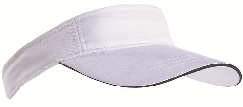 Tennis Sun Visor Blue trim