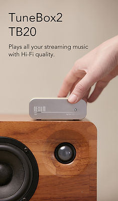 NEXUM TuneBox2 TB20 WiFi Hi-Fi Music Receiver
