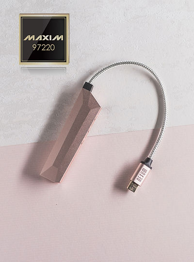 Nexum Aqua Portable Battery-Free, in-Line Headphone DAC and Amplifier