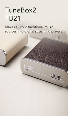 NEXUM Tunebox2 TB21 WiFi Hi-Fi Music Receiver with Analogue Input (ADC)