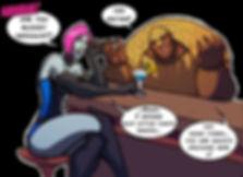 15 Year Comics: Evil Spirits Armando the Armadillo Bartender and Bar Boss