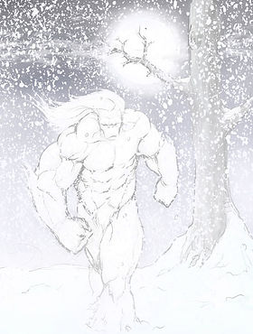 15 Year Comics: Abomino in the Snow. Yeti. Abominable Snowman with a Heart of Gold. Only time will tell