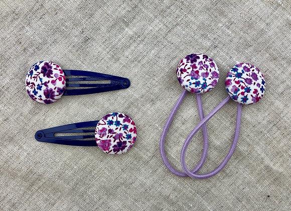 Spangen Liberty Phoebe (violett)