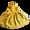 Thumbnail: Latzrock Leinen gelb