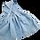 Thumbnail: Latzrock Leinen blau