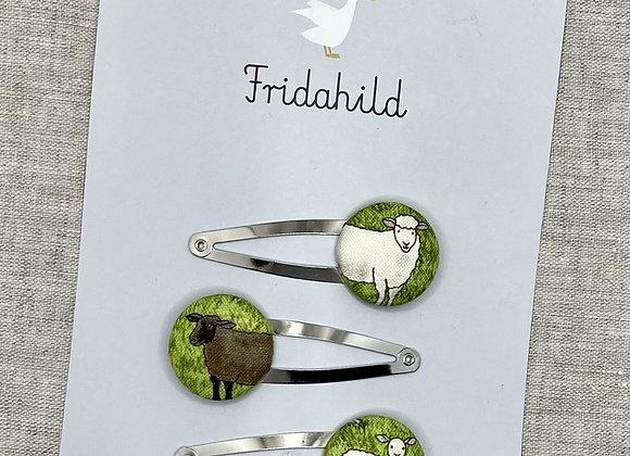 Spangen Set Schafe im Grünen