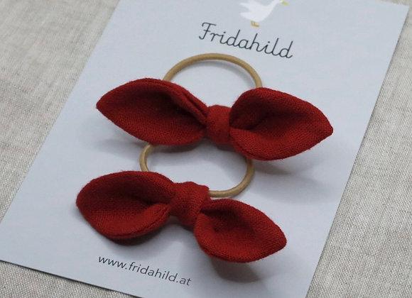 Knotenschleife rot