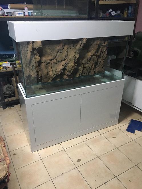 3D 120 cm lik Mobilyalı Akvaryum