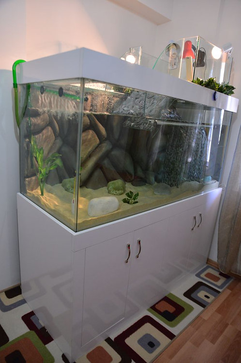 140 cm Su Kaplumbağası Akvaryumları