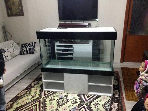 TV ünite raflı Akvaryum 130 cm