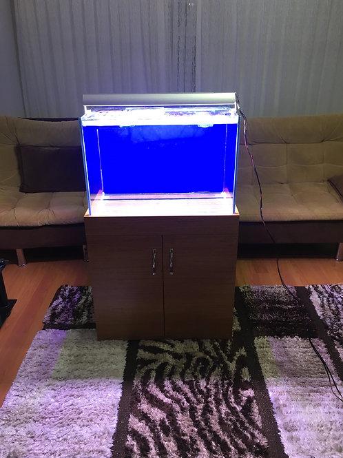 70 cm  İÇTEN Sumplu Akvaryum