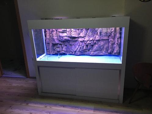 160 cm  Akvaryum (3D Dekorlu) Demirli