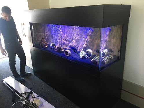 200 cm 3D Akvaryum Demirli