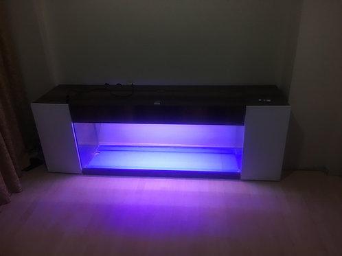 Tv Ünitesi Akvaryumu Cam 150 Cm