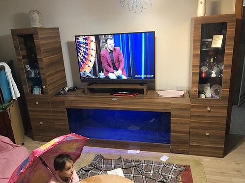 Tv Ünitesi Akvaryumu Çift yan iç sumplu 190 Cm