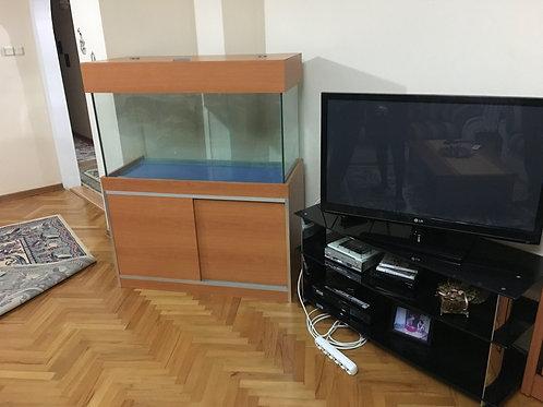 120 cm Mobilyalı Akvaryum demirli