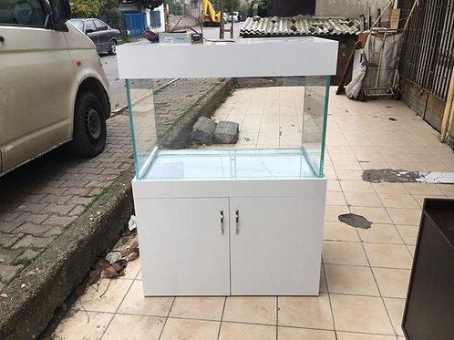 120 cm Mobilyalı Akvaryum agac tasıyıcılı