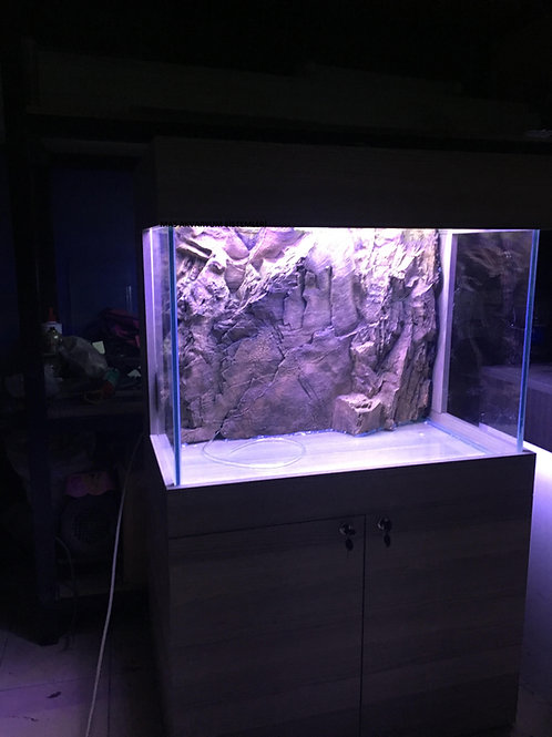 90 cm  3D Akvaryum