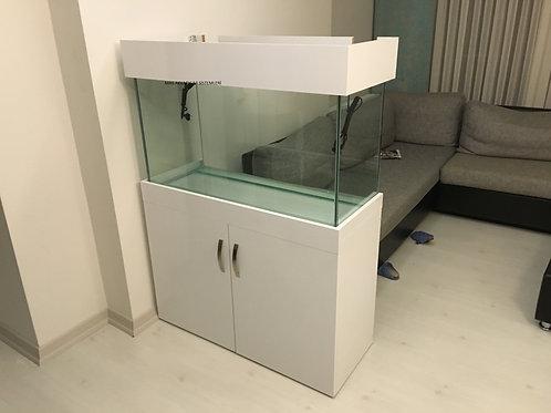 100 cm Mobilyalı Akvaryum