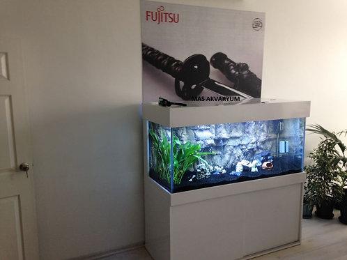 Mas Özel Ful Akvaryum 3D 140 cm