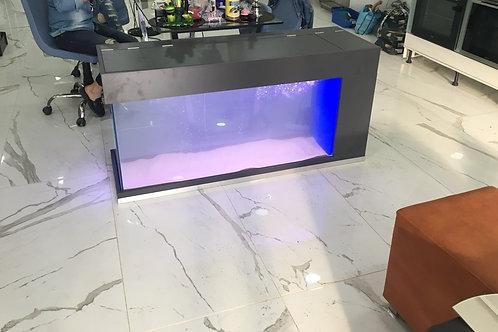 130 cm İçten Sumplu Akvaryum