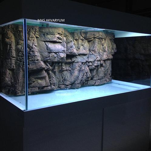 130 cm 3D Akvaryum Taşıyıcılı