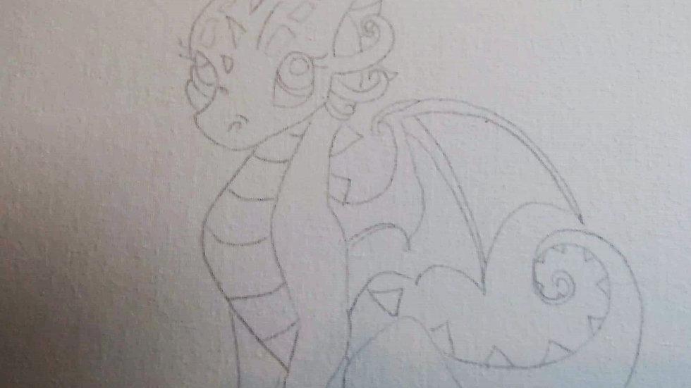 Dragon A Canvas