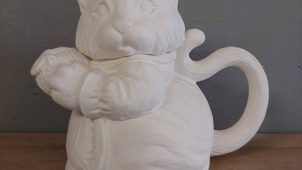 Kitty Tea Pot