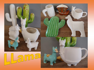 Painting Wonderland's Llamas Explosion!