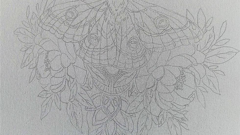 Moth Canvas