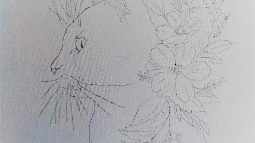 Cat Beauty Canvas