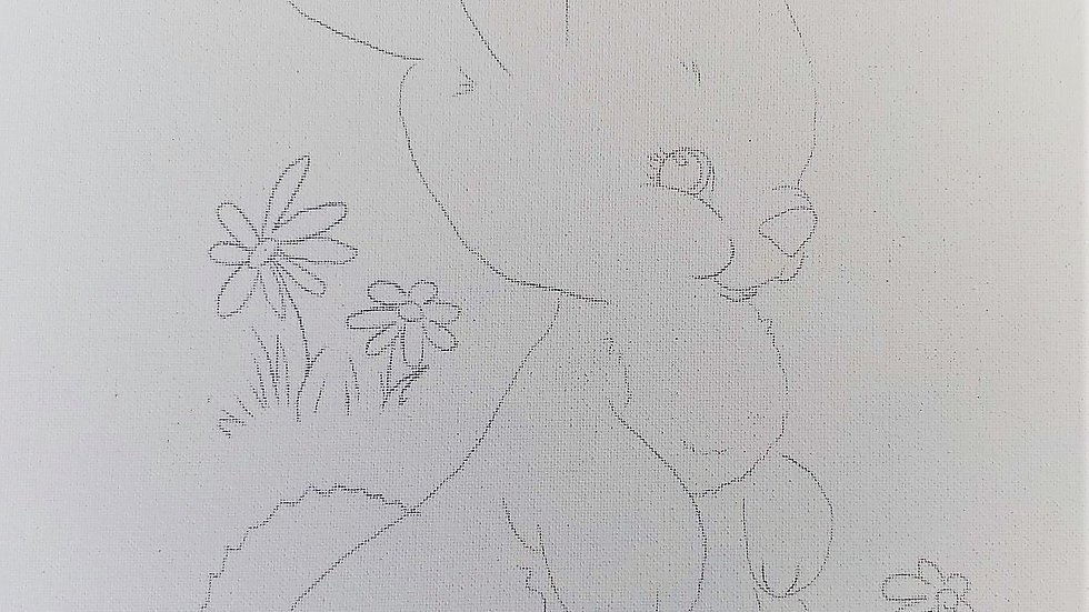 Bunny Canvas