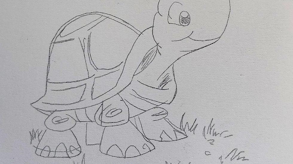 Sweet Turtle Canvas
