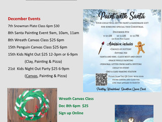 Some of our Dec events...